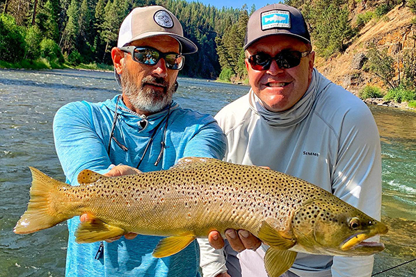 Missoula guided fly fishing trips during stay and fish package.